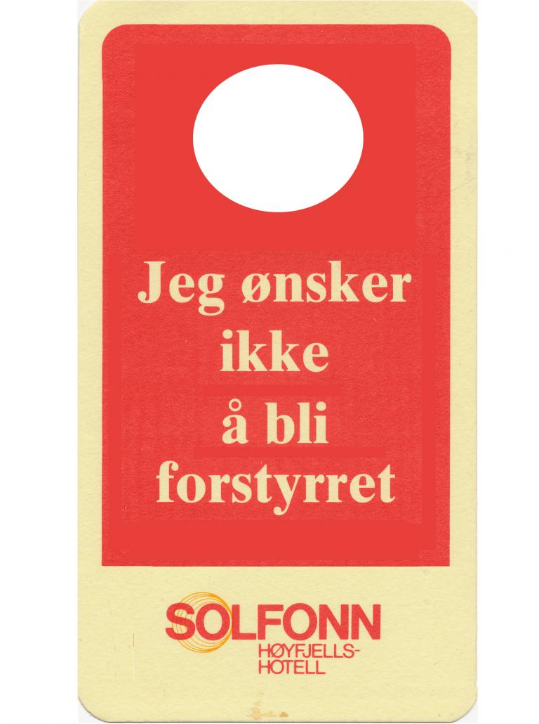 Drømmen om Solfonn Hotell
